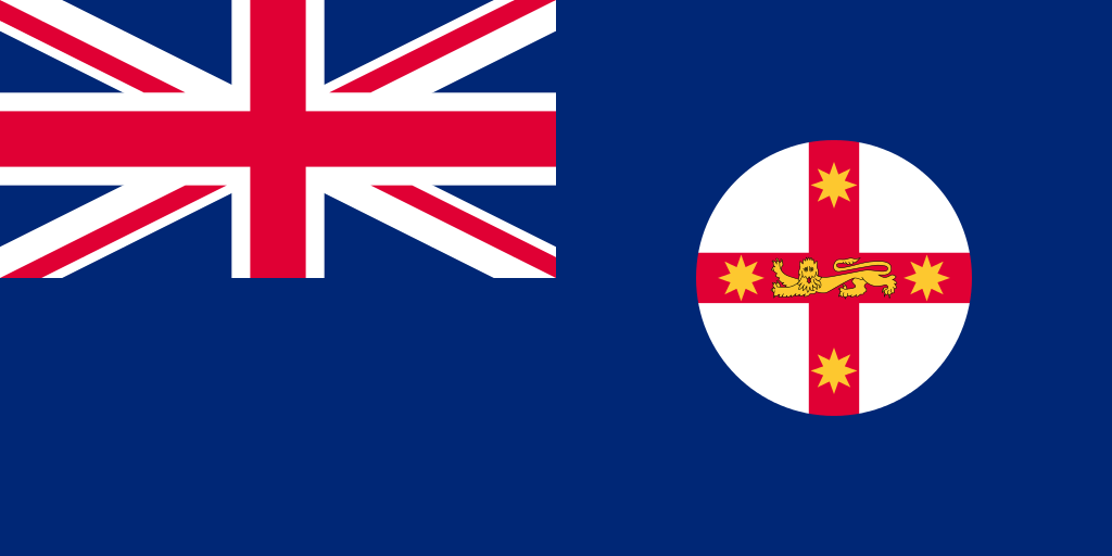 Australia New South Wales flag 1024