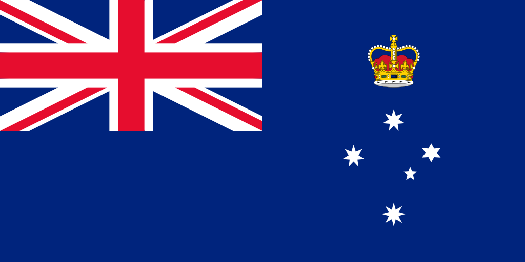 Australia Victoria flag 1024