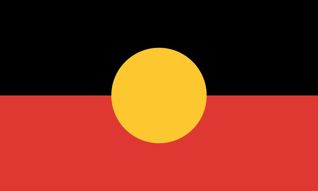 Australian Aboriginal Flag 1024