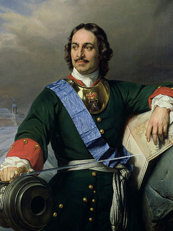 Under Peter the Great, Russia became a great European power.