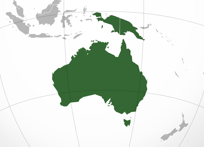 Australia Island Continent Country And