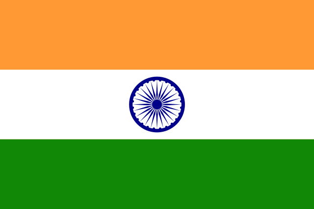 What continent is India in?