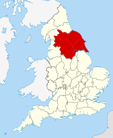 Map Of England With Counties And Major Cities.Population Of Yorkshire 2017 Facts And Explanation
